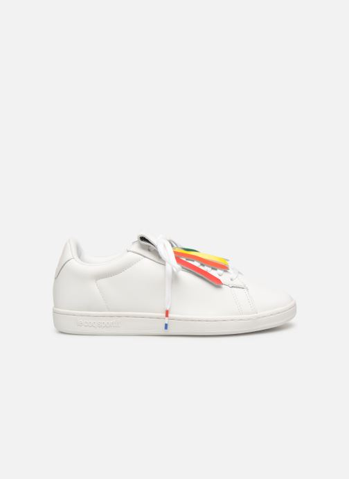 Trainers Le Coq Sportif Courtset W White back view